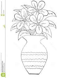 Drawn Vase Pencil Drawing