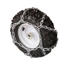 Arnold 16 In. X 4.8 In. Tire Chains For Snow Throwers-490-241-0028 ...