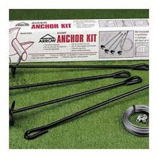 earth anchor kit arrow metal shed accessories