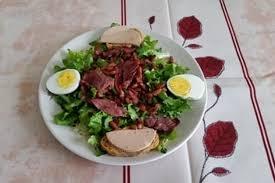 cuisiner les gesiers recette de salade de magret de canard fumé gésiers foie gras