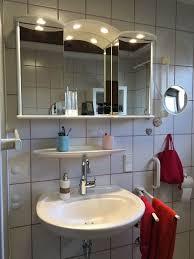 spiegelschrank badezimmer hängeschrank inkl beleuchtung