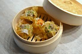 cuisine chinoise porc bouchées vapeur chinoise au porc siu mai la recette facile