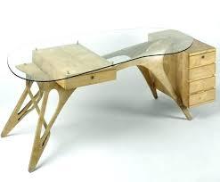 bureau verre design bureau verre design contemporain bureau verre et bois bureau