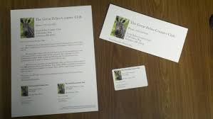 How To Make Your Own Membership Cards with a Wel e Letter