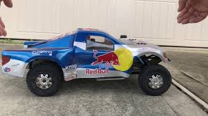 100 Redbull Truck BRYCE MENZIES RED BULL TROPHY TRUCK SUSPENSION TEST YouTube