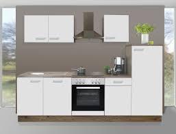 küchenblock melina 270cm vormontiert weiß sanremo e geräte küchenzeile