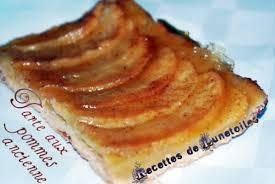 cuisine tarte aux pommes tarte aux pommes sans crème patissiere amour de cuisine