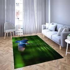 eisvogel eilt zur jagd teppich wohnzimmer teppichboden