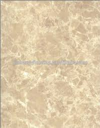 Plastic Flooring Type Marble Pattern Vinyl Tile