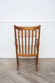 Jfk Rocking Chair Auction by Rocking Chair By Hans J Wegner For Tarm Stole 1960s For Sale At
