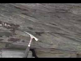 Trough Cross Bedding by Trough Cross Bedding Preserved In Rock Outcrop Youtube