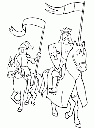 Superb Knight Coloring Page With Pages And Lego