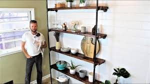 The Industrial Wall Shelves DIY Project Remodel