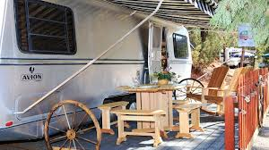 100 Restored Retro Campers For Sale Just Outside Of Yosemite Is A Trailer Park With The Vintage