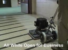Square Buff Floor Sander Pads by Square Strip Floor Machine Dry Floor Stripping Machine Youtube