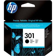 Hp 301 Black Ink Cartridge Deskjet Range No