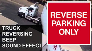 100 Truck Backing Up Sound TRUCK REVERSING BEEP Effect YouTube