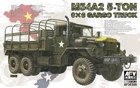 1/35 US M54a2 5-ton 6x6 Cargo Truck Model Kit By AFV Club | EBay