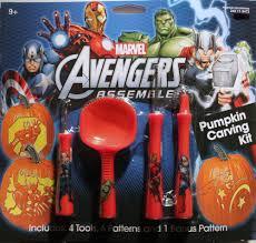 Superhero Pumpkin Carving Patterns by Avengers Pumpkin Carving Kit Tools Patterns Halloween Marvel Hulk
