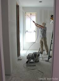 Using A Paint Sprayer For Ceilings by Texture And Primer Domestic Imperfection