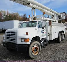 1998 Ford FT900 Utility Bucket Truck | Item C5952 | SOLD! Ja... Automotive Buying Bucket Trucks Used Forestry For Sale Florida Best Truck Resource Used 2007 Intertional 7300 Bucket Truck Boom For Sale In Michigan 2000 Ford Super Duty F350 73l 4x4 2009 Utem Altec Am At Auction Intertional 7400 For Sale Verona Kentucky Price 115000 Year Pa Tristate Buy Or Rent Boom Pssure Diggers And Ford Diesel Altec 50ft Insulated No Cdl Quired F550 In Medford Oregon 97502 Central Scania R3606x24 Crane Trucks 2010 Mascus Usa