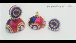 How To Make Designer Silk Thread Earrings At Home !! - YouTube How To Make Pearl Bridal Necklace With Silk Thread Jhumkas Quiled Paper Jhumka Indian Earrings Diy 36 Fun Jewelry Ideas Projects For Teens To Make Pearls Designer Jewellery Simple Yet Elegant Saree Kuchu Design At Home How Designer Earrings Home Simple And Double Coloured 3 Step Jhumkas In A Very Easy Silk Earring Bridal Art Creativity 128 Jhumka Multi Coloured Pom Poms Earring Making Jewellery Owl Holder Diy Frame With