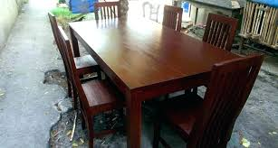 Mahogany Dining Table Sets Set