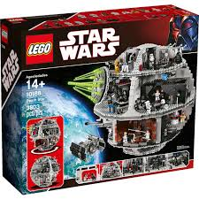 Star Wars Room Decor Walmart by Lego Star Wars Death Star Walmart Com