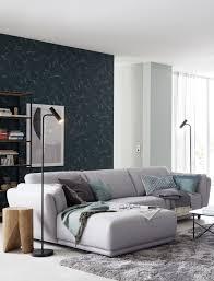 ecksofa metropolitan sofa grau wohnzimmer idee schöner