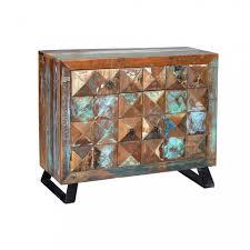 sideboard mit 2 türen und 2 holzschubladen möbel im vintage stil jeremiah