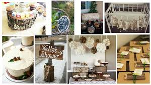 rustic baby shower decorations diy decorations for a rustic look