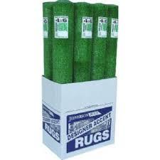Area Rug Outdoor Heavyweight Artificial Grass 4 x 6 Ft Model