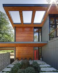 Mid Century Modern House Designs Photo by Mid Century Modern Ranch House Renovation Cedar Planks Modern