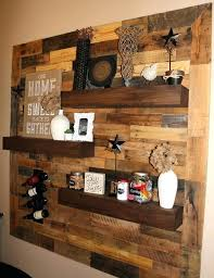 Wood Wall Design Awesome Pallet Decor Ideas Wooden Unique Art On Retaining Idea