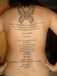 Moon And Short Quotes Tattoos On Back Body In 2017 Real Photo Pictures Images Sketches Tattoo Collections