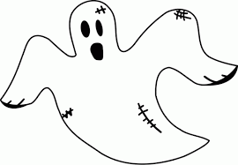 Pac Man Ghost Colouring Pages