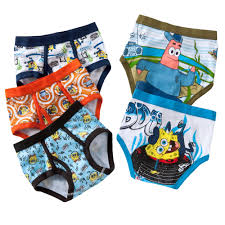 Spongebob Toddler Bedding by 4 8 Spongebob Squarepants 5 Pk Briefs