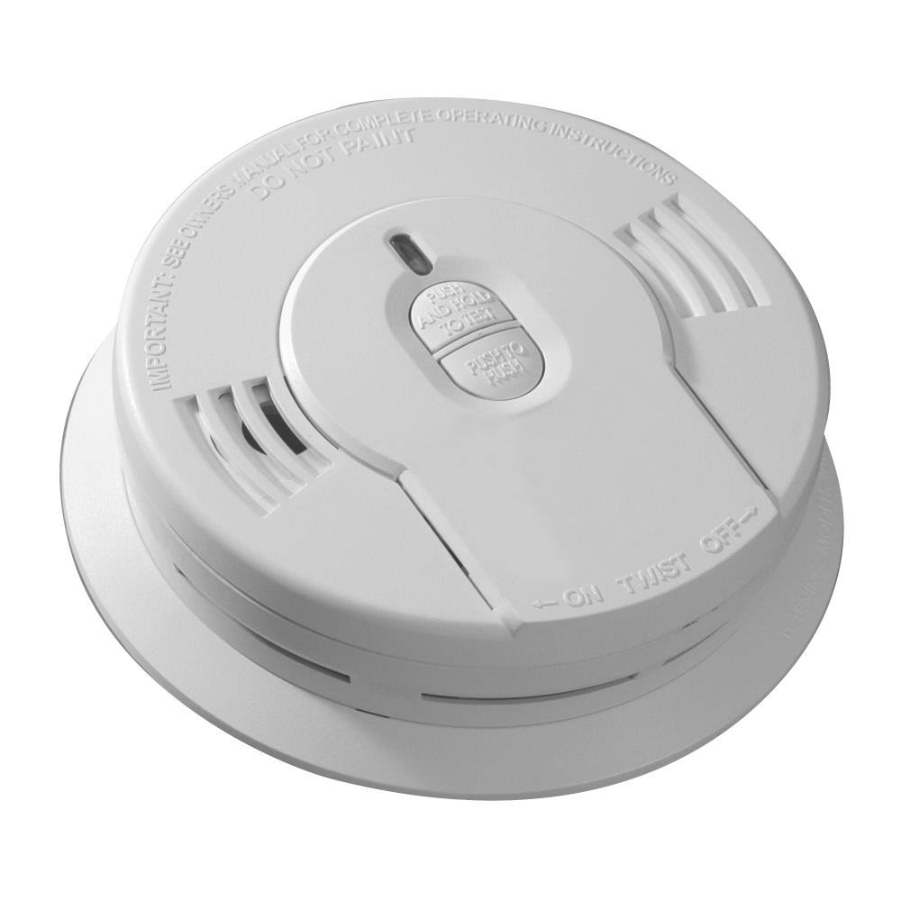 Kidde Lithium Battery-Operated Smoke Alarm