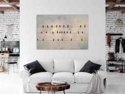 leinwand vögel bild wanddeko wohnzimmer fotografie