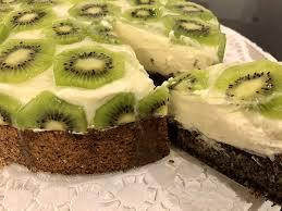mohn kiwi torte glutenfrei