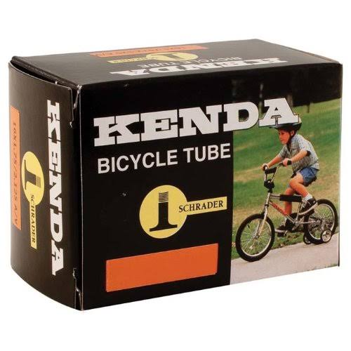 Kenda Schrader Bicycle Tube - Black, 26""