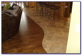 tile to wood floor transition doorway tiles home design ideas