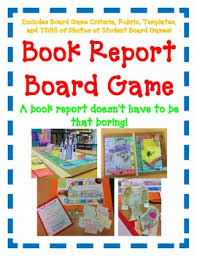 Fun Easy Directions Artistic Creative Challenging BOOK REPORT Board Game