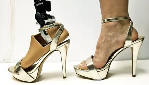 prosthetic foot designed for really high heels futurity