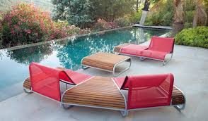 Chic Ultra Modern Patio Furniture Contemporary Outdoor Design Tandem Series Clima