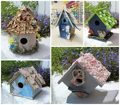 Birdhouse Crafts 5 Ways