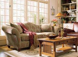 Stickley Mission Leather Sofa by Living Room Furniture