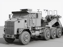 100 Het Military Truck HET M1070 Military Truck 3D Model In Transport 3DExport