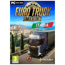 PC Game Euro Truck Simulator 2 Italia, 7350021964960