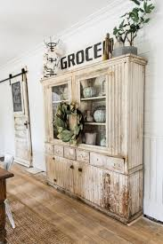 Shabby Chic Dining Room Hutch by Primitive Dining Room Hutch Buffetschrank Shabby Chic Und Esszimmer